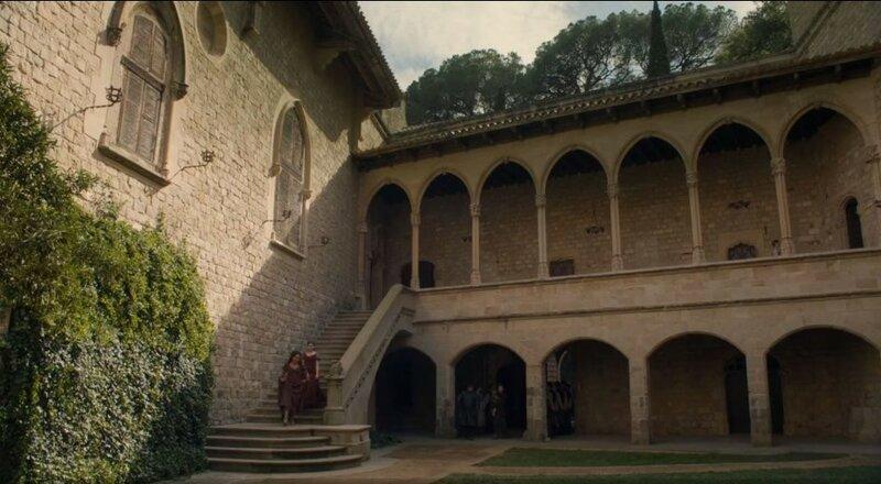Внутренний двор замка Святой Флорентины