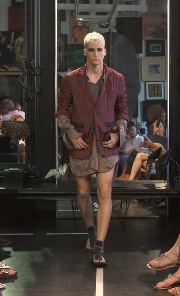 #MFW: Di Liborio Spring Summer 2018 Menswear Collection