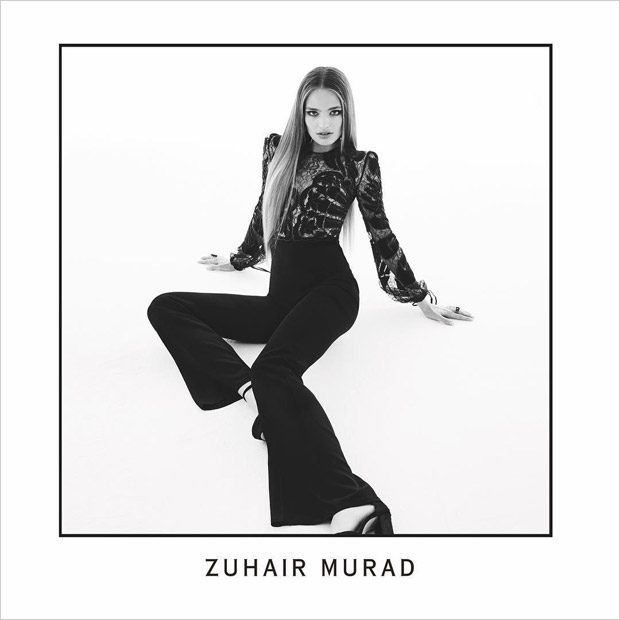 Anna Mila Guyenz Poses in Zuhair Murad Fall Winter 2017.18 Collection (5 pics)