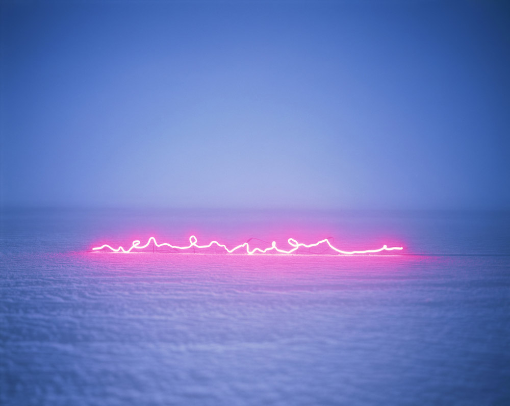 Poetic Neon Installations by Jung Lee