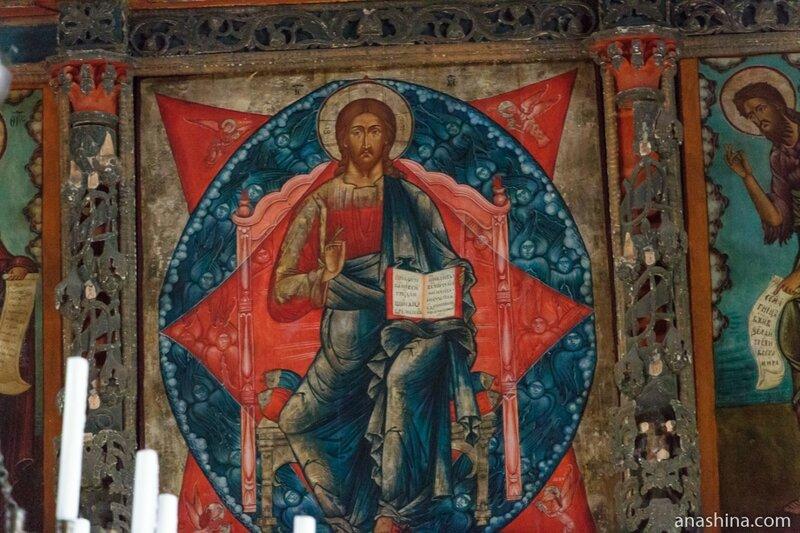 Икона Спасителя, Успенская церковь, Кондопога