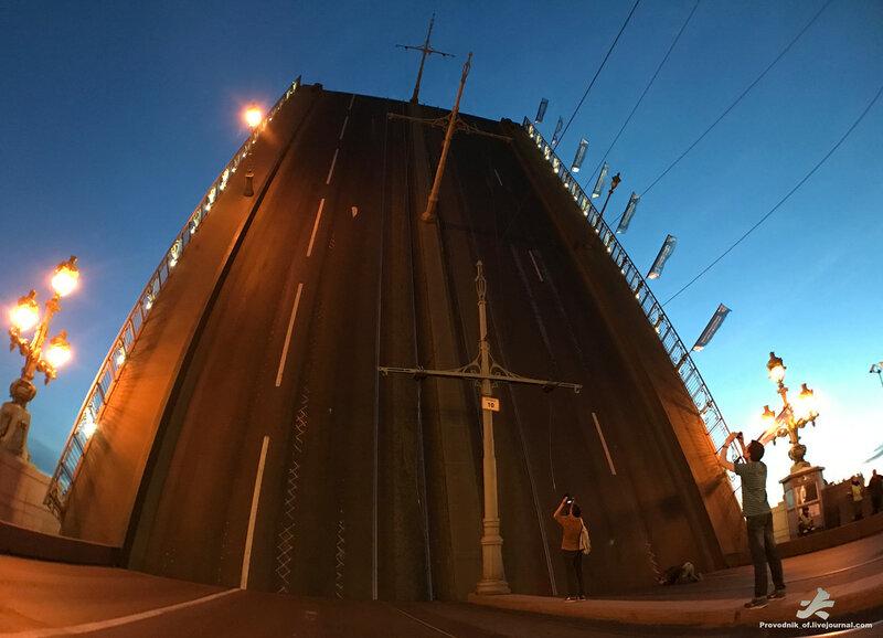 мосты разводные фото