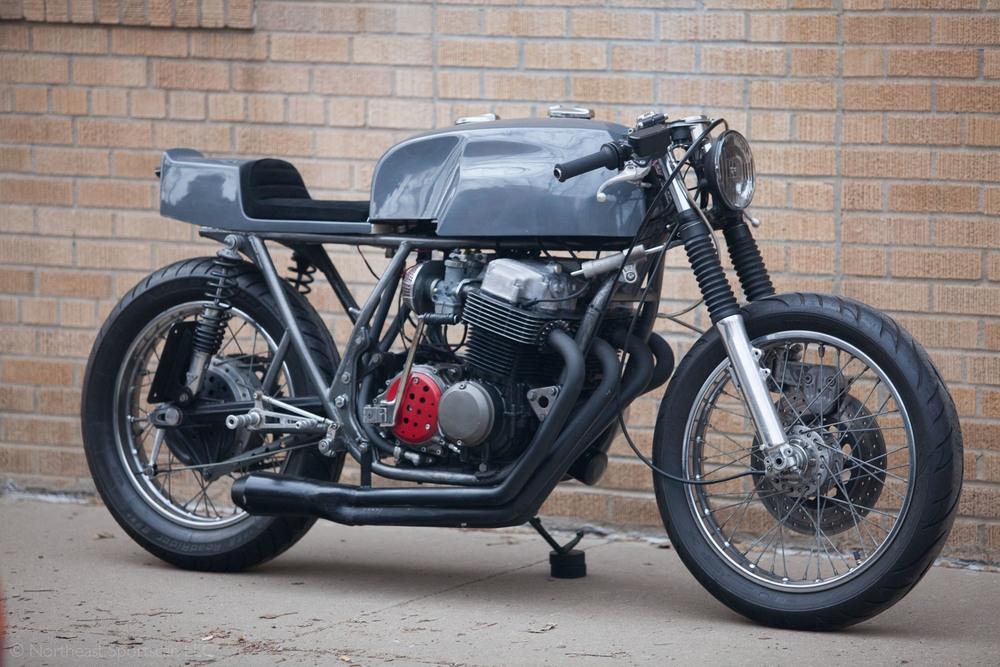 Кафе рейсер Honda CB750K1 1971
