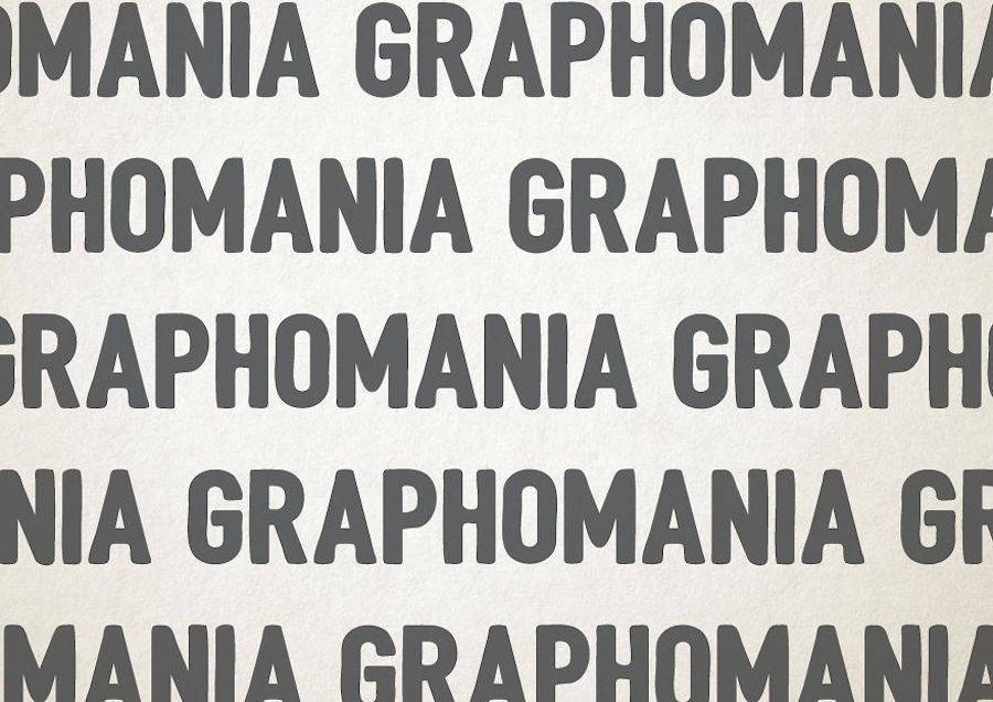 Health Disorders illustrated through Typography