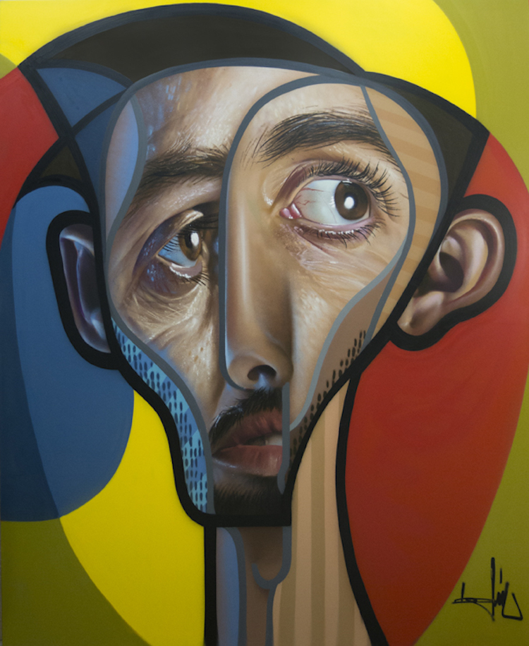 Graffiti Portraits Creatively Blend Cubism with Hyperrealism (15 pics)