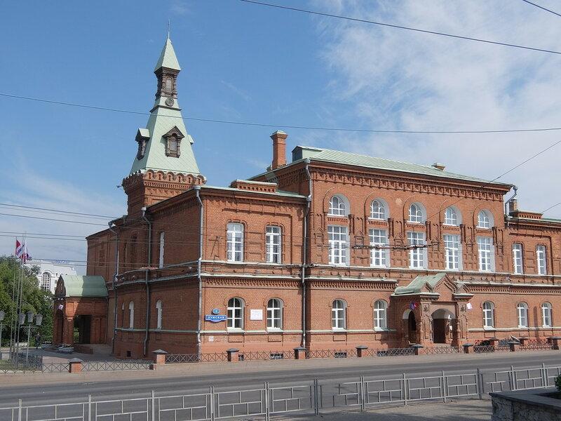 Омск - Здание городского Совета