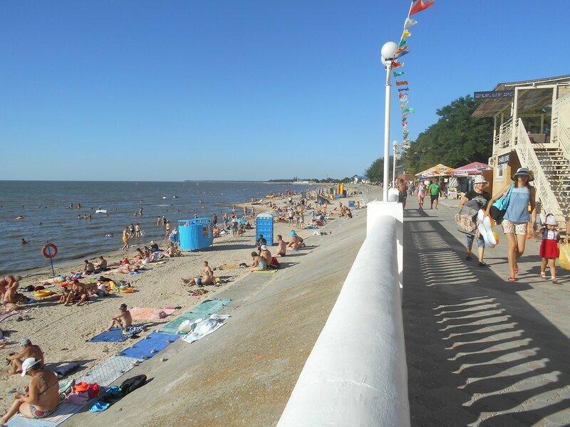 Перспектива курортного берега и моря ... DSCN3630.JPG