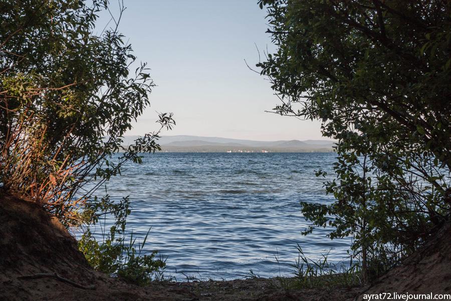 Ночь на озере Увильды -