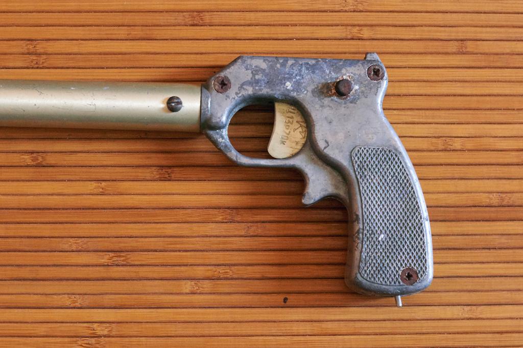 Ружье гарпун для подводной охоты, резинка, СССР