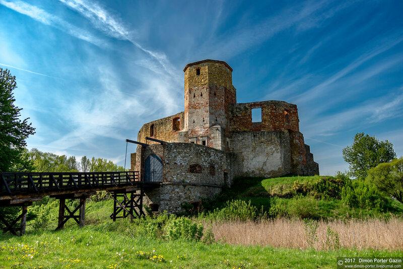 Севеж. Севежский замок
