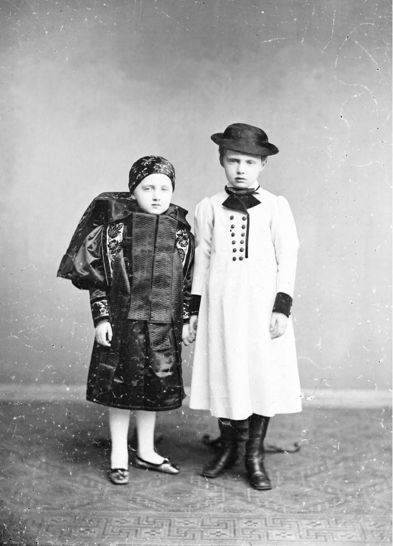 Луиза и Эрнст Саксен-Альтенбургские. 1877