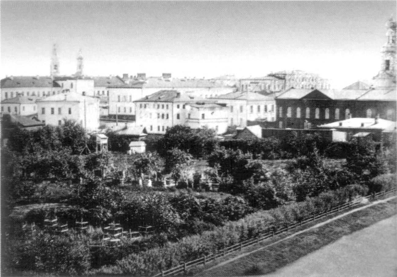 Сад и пасека кадетского корпуса