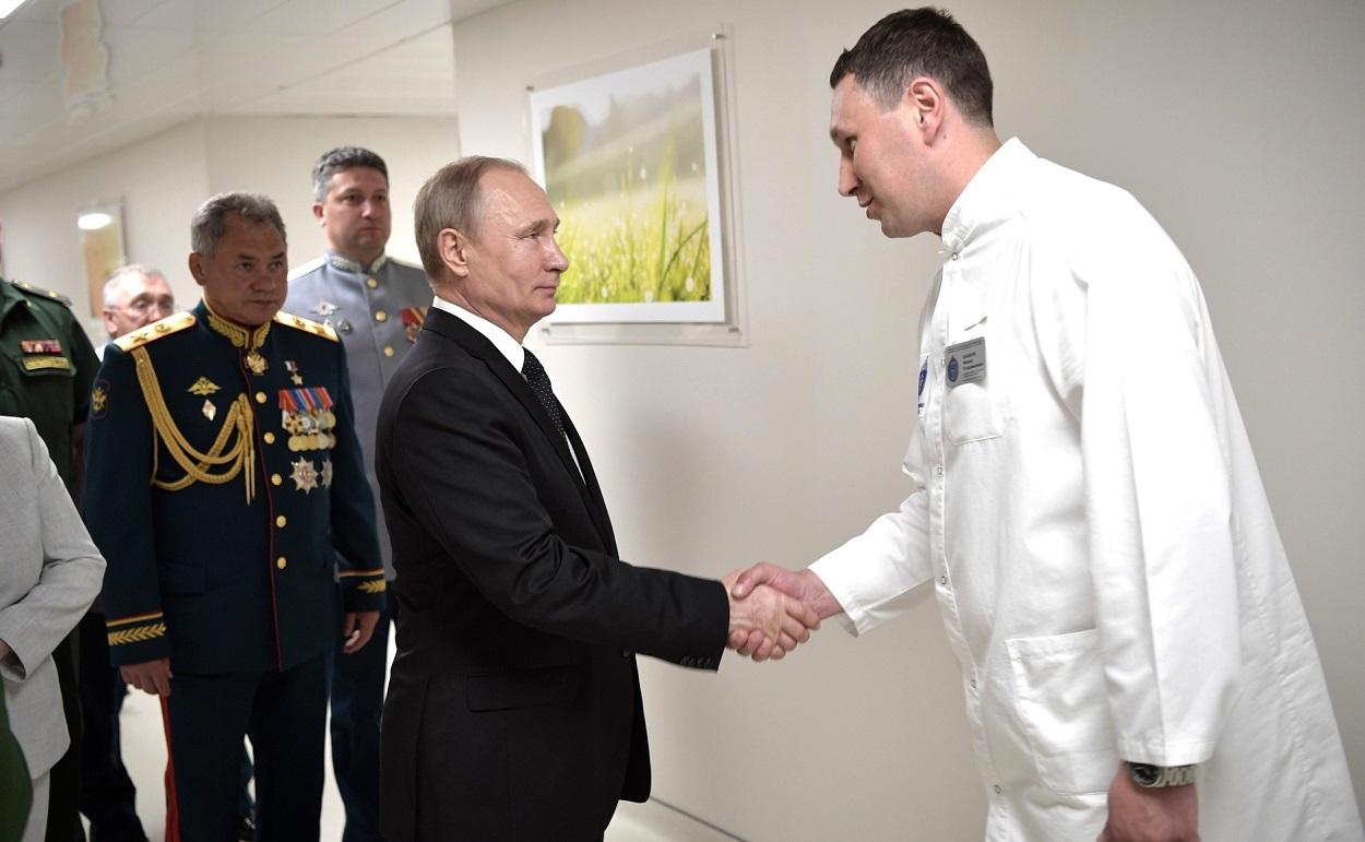 Посещение клиники Военно-медицинской академии имени С.М.Кирова, 30 июля 2017 г., Санкт-Петербург(6)