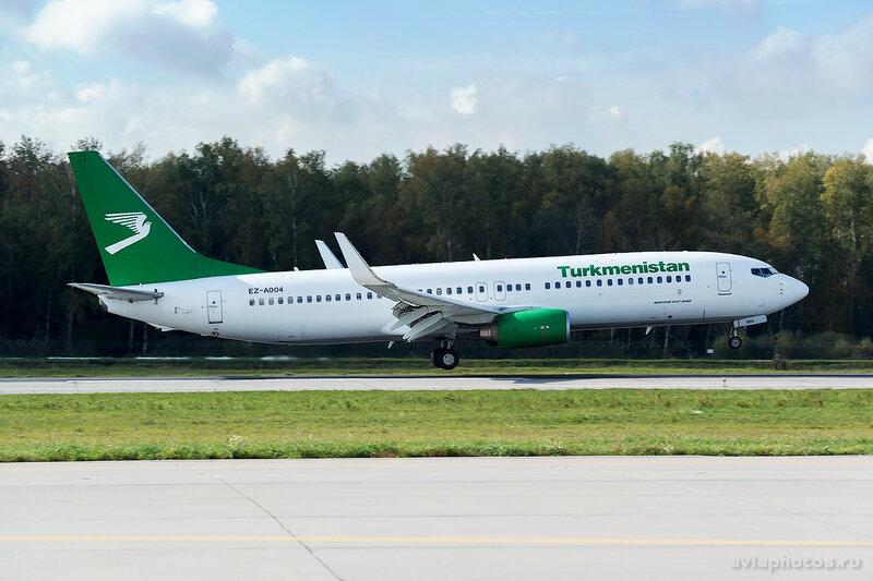Boeing 737-82K (EZ-A004) Turkmenistan 175_D801207