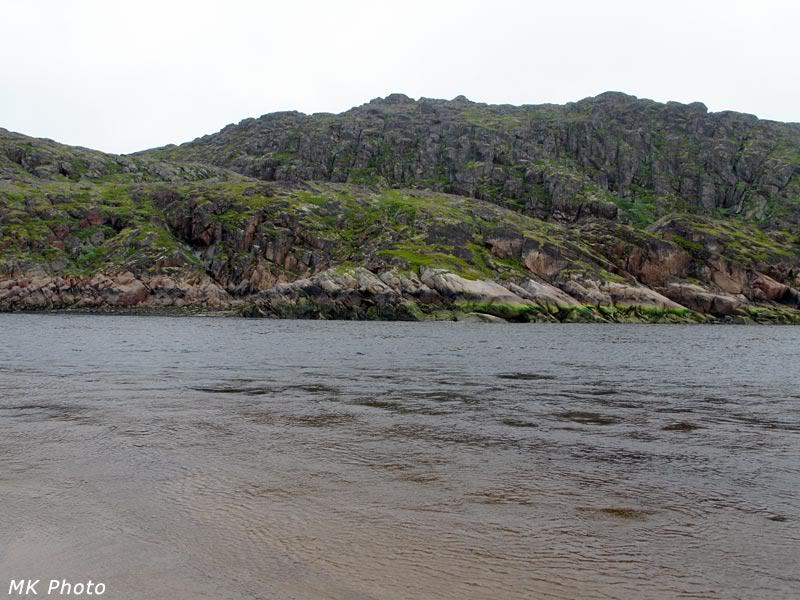 Вид на противоположный берег р. Воронья