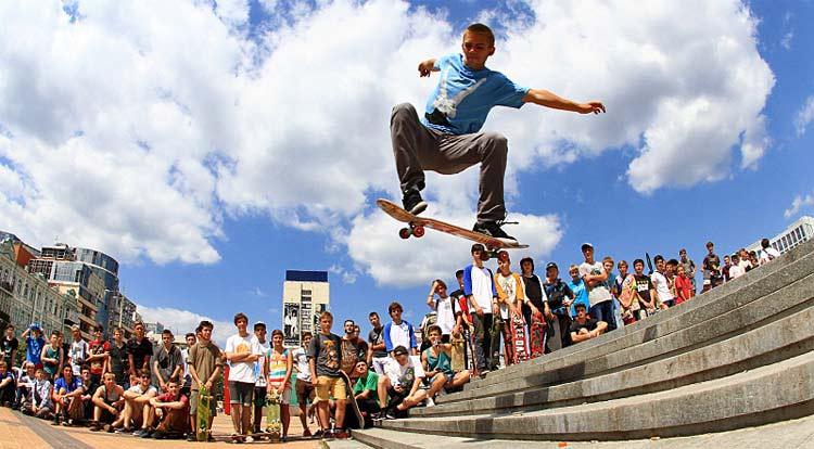скейты в Киеве на ЭкстремСтайл