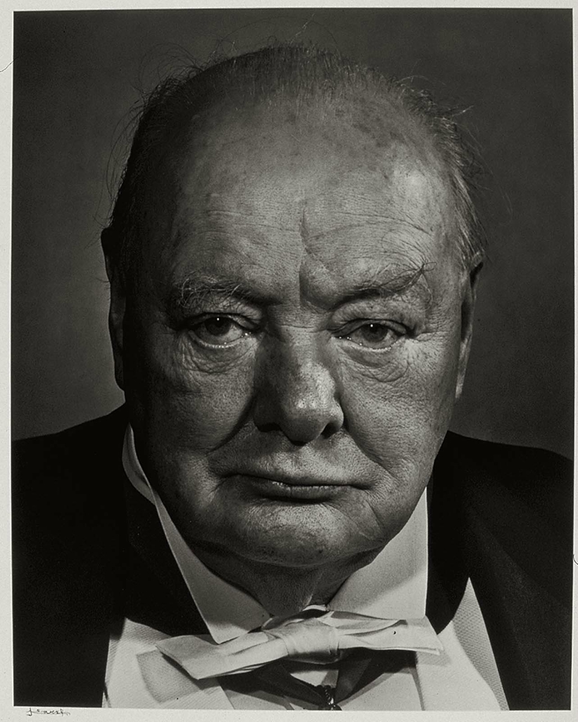 Уинстон Черчилль1956. Великий фотопортретист Юсуф Карш (Yousuf Karsh 1908-2002) Часть 2.