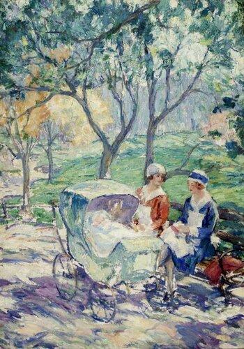 Karl Buehr In the Park