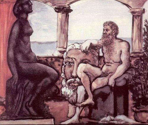 Пикассо, Пигмалион и Галатея