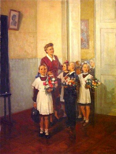 Александр Кержнер В первый класс