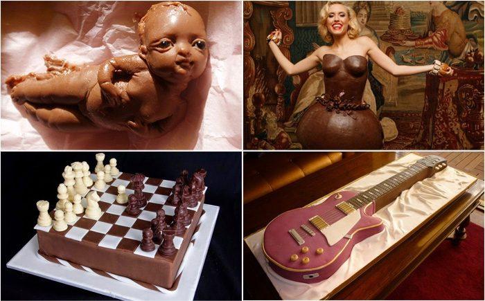 Невероятные шоколадные изделия открытки фото рисунки картинки поздравления