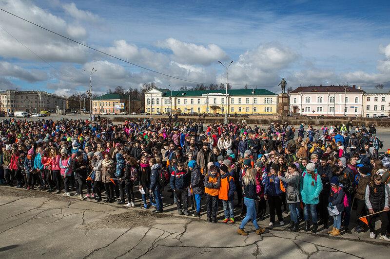 Большая Георгиевская игра в Петрозаводске