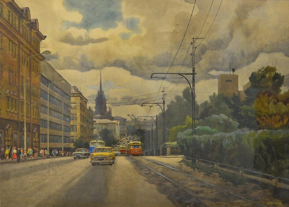 Семёнов Борис - Свердловск. Проспект В.И. Ленина (1975)