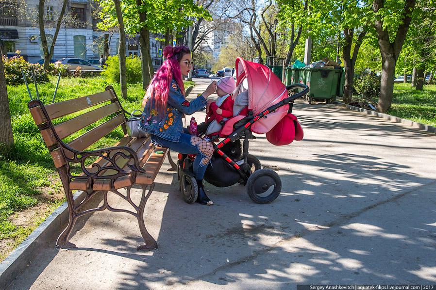 14. В ожидании клиентов. Один круг по парку на пони — 150 рублей.