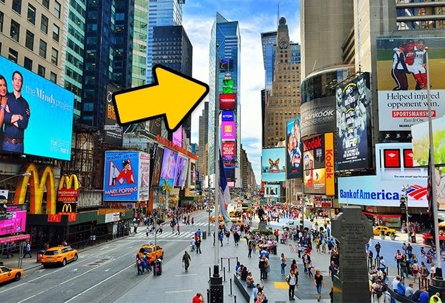 © depositphotos  Несмотря нато, что здание Уан-Таймс-сквер приносит своим владельцам около $