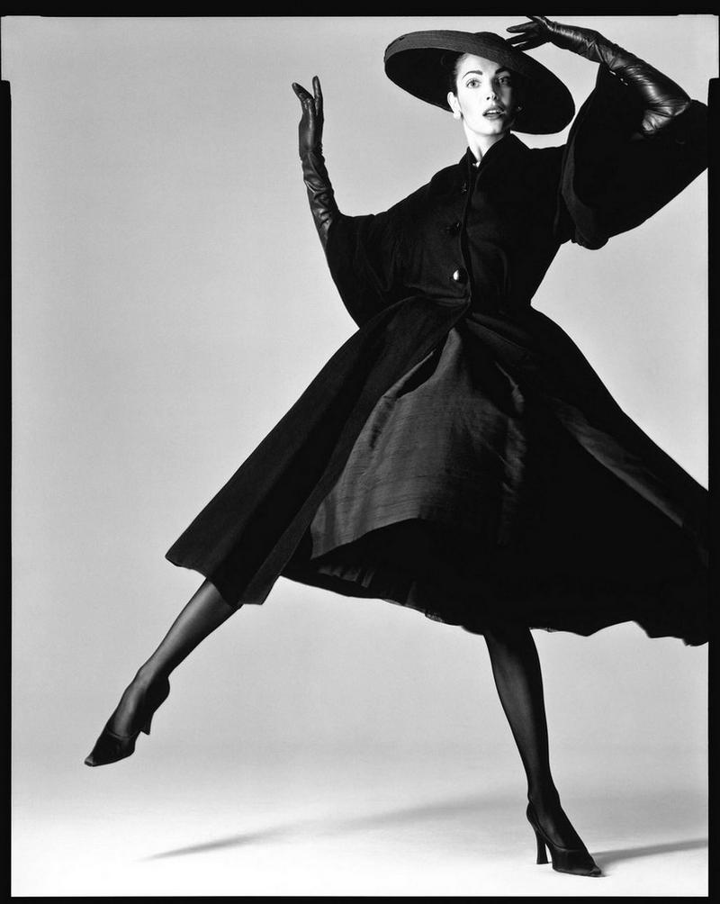 Восхитительная Стефани Сеймур в фотосерии Ричарда Аведона «La Passante Du Siecle»