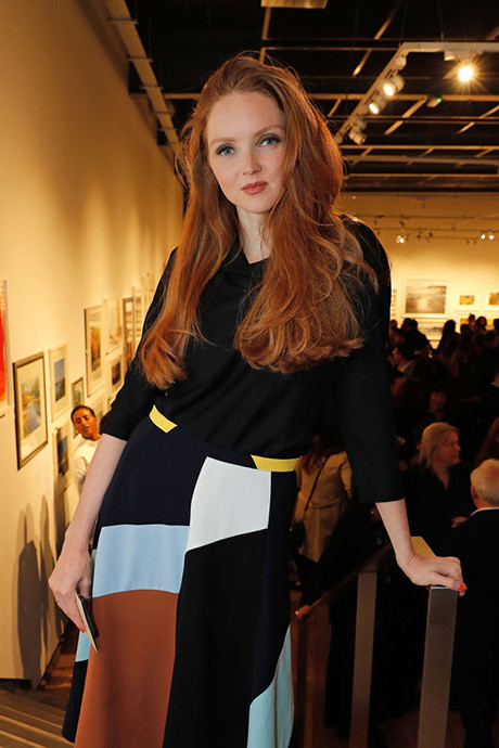 Лили Коул Успешная модель с неординарной внешностью стала популярной, как раз когда училась в универ