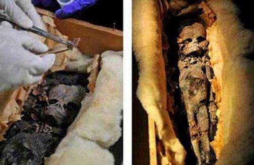 Фото: Disclose.tv Еще одной археологической находкой, восторгающей уфологов и последователей теории
