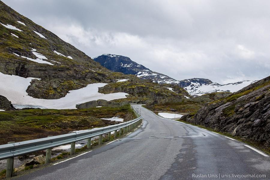 6. В прошлых отчетах я упоминал особенность Норвегии, которая заключается в резкой смене обстановки