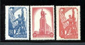 1938 Павильон СССР на Международной выставке в Париже