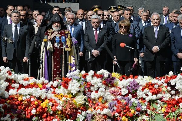 ВРостове-на-Дону почтили память жертв геноцида армян вОсманской империи