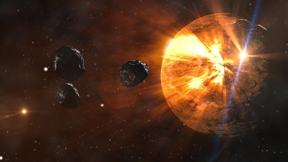 Наповерхности метеорита найден витамин— Ученые