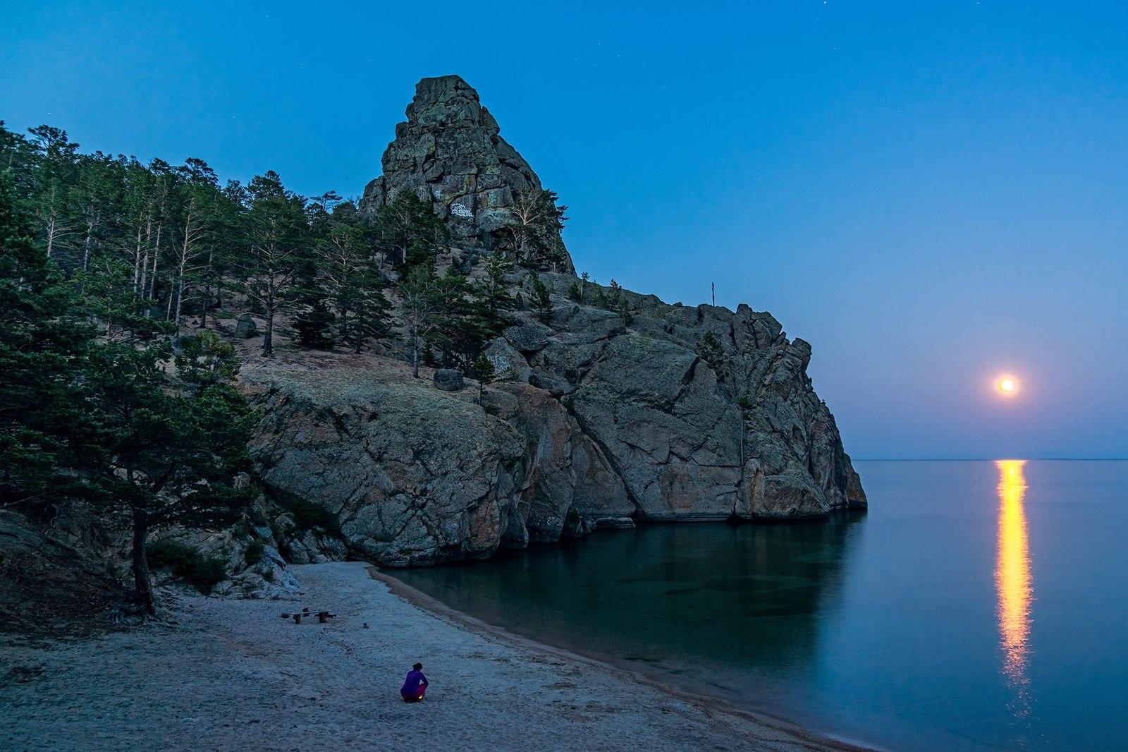 Бухта Песчаная, Байкал