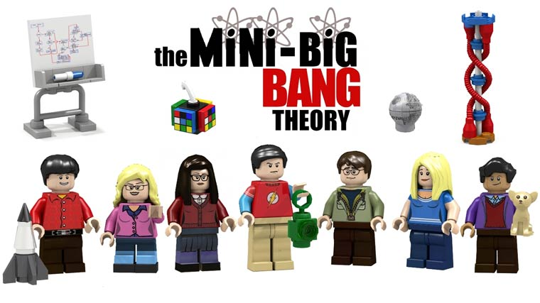 LEGO Big Bang Theory - Leonard, Sheldon, Penny and the others are coming as minifigs