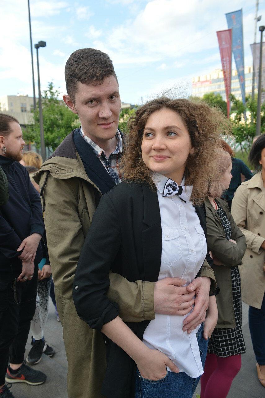 Денис Стяжкин и поэтесса Тина Бем