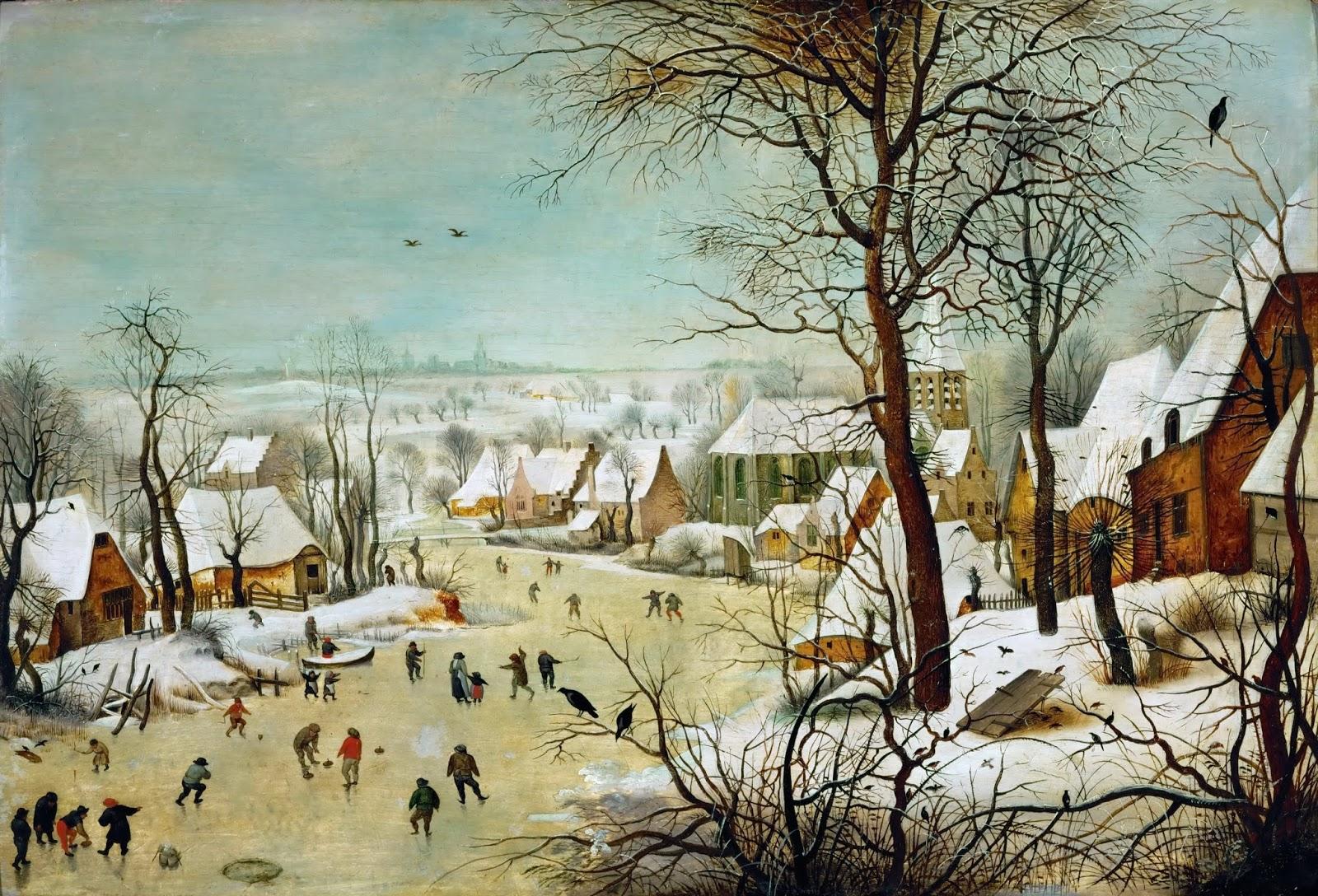 2 Pieter_Bruegel_d._Ä._093     Winterlandscape with skaters and bird trap.jpg