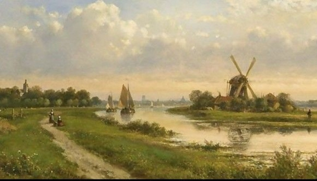 5 Kleijn_A-River-Landscape-In-Summer.jpg