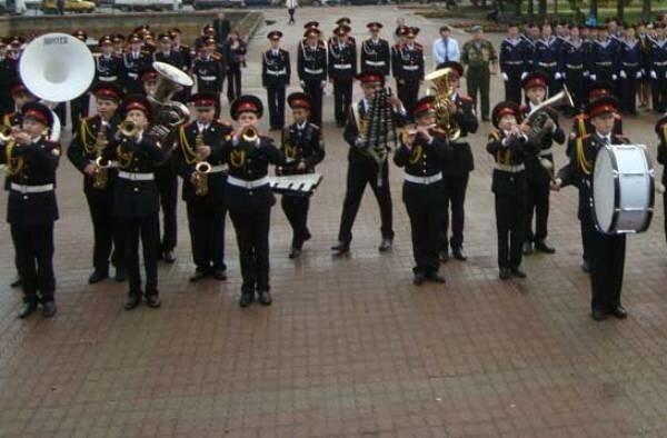 Сербия, кадетский корпус, оркестр, концерт, Белград