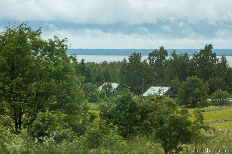 Кубенское озеро, Вологодская область