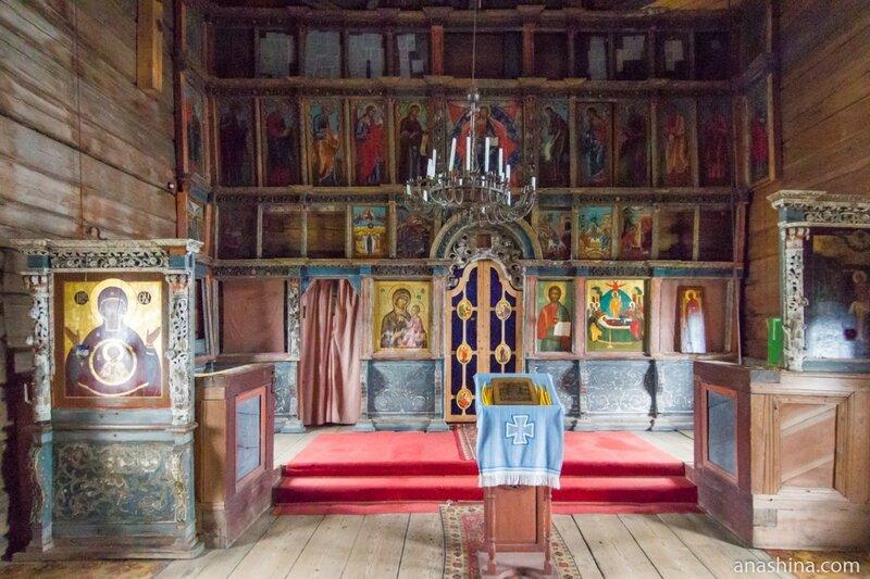 Иконостас Успенского храма, Успенская церковь, Кондопога