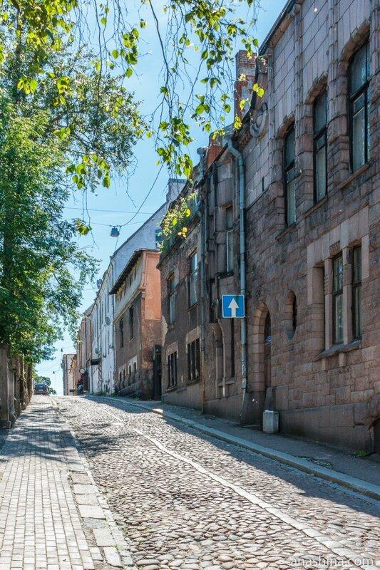 Улица Подгорная, Выборг