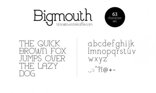 Amazing Free Fonts