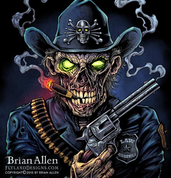 Dark Illustrations by Brian Allen