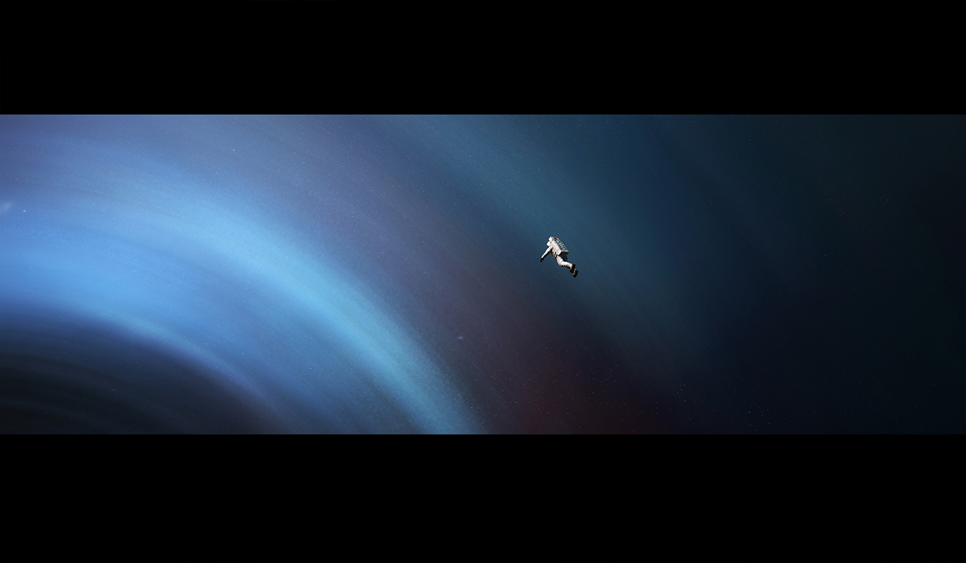 Poetic Illustrated Story in Space by Thomas Dubois