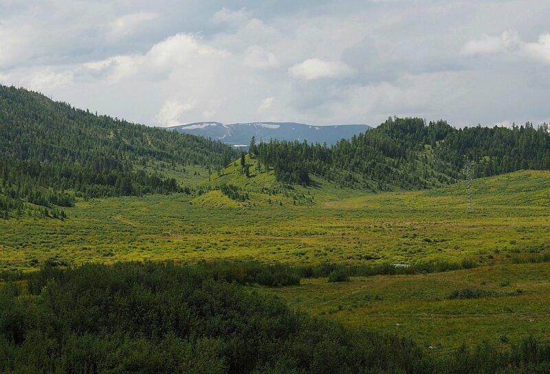 Горный Алтай - возле озера Чейбеккёль (Mountain Altai - near Lake Cheybekkol)