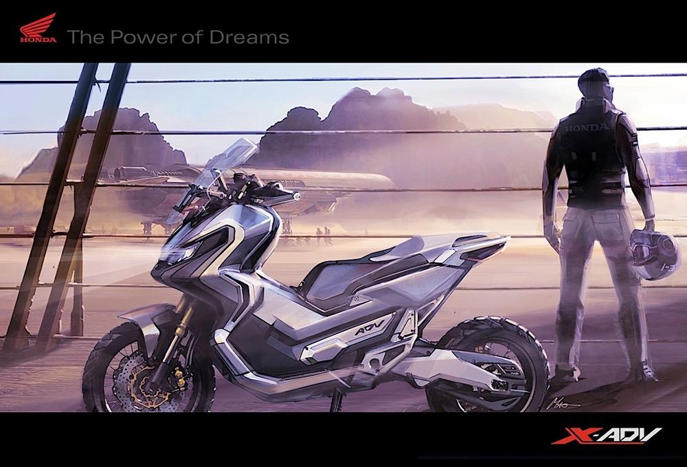 Скутер Honda X-ADV вдохновил европейских художников (видео)
